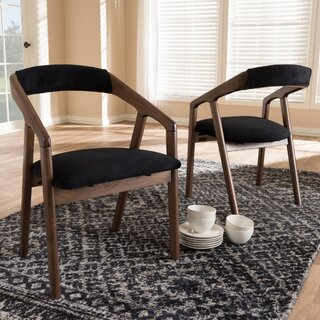 Whitlatch Solid Wood Dining Chair (Set of 2) by George Oliver SKU:AE123812 Information
