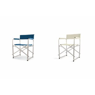 Aluminium Folding Director Chair (Set Of 2) By Galileo