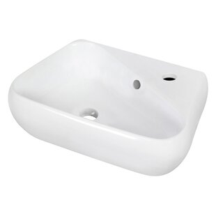 Ceramic Specialty Vessel Bathroom Sink with Overflow ByRoyal Purple Bath Kitchen
