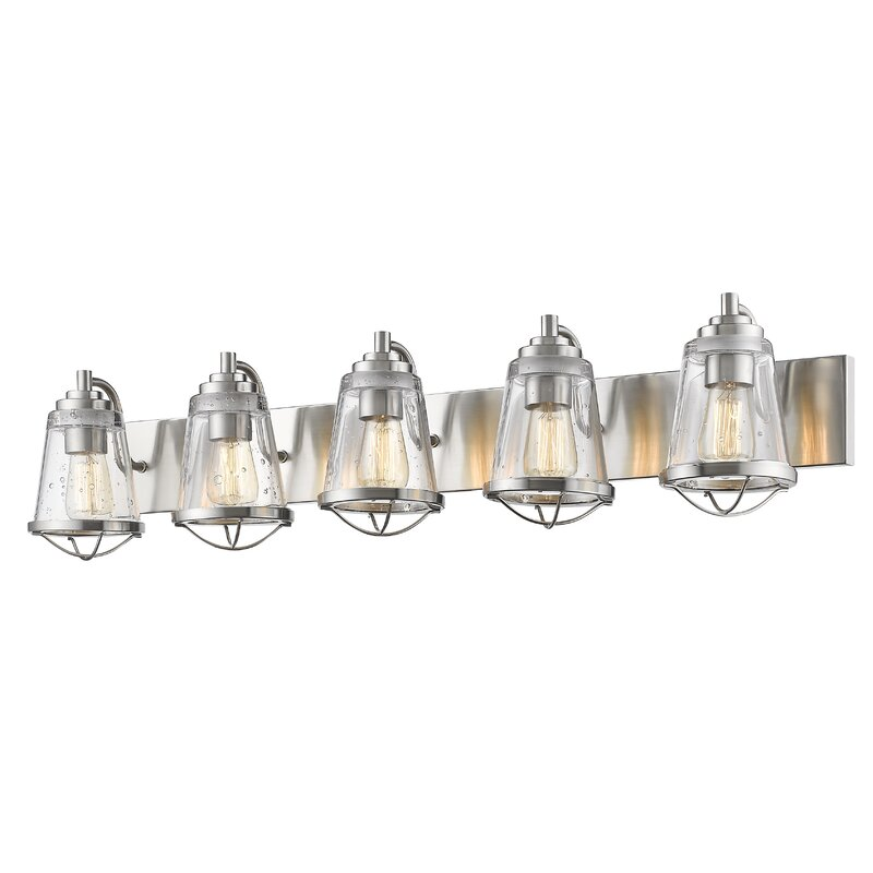 Breakwater Bay Crowder 5 Light Vanity