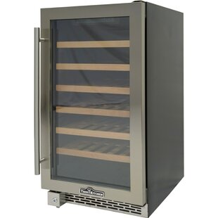 40 Bottle Single Zone Convertible Wine Cooler
