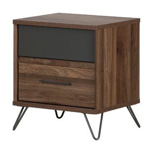 Olvyn 2 Drawer Nightstand