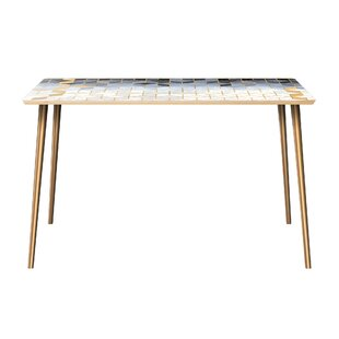 Kanoe-Chaoue Dining Table Bungalow Rose