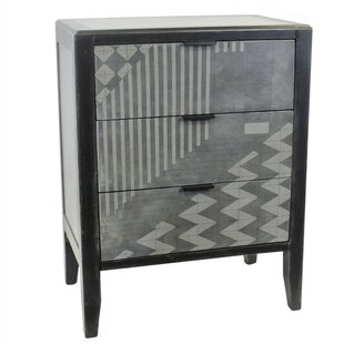 Dennis 3 Drawer Accent Chest by Brayden Studio