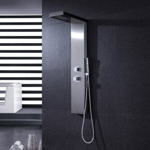 Luxier Thermostatic/Diverter Fixed Head Shower Panel