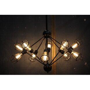 Williston Forge Brownlee 10-Light Chandelier