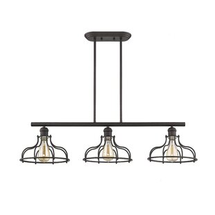 Etonnant Gingrich Industrial 3 Light Kitchen Island Pendant