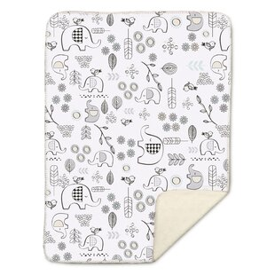 Affordable Kayden Elle Elephant Baby Blanket By Lolli Living