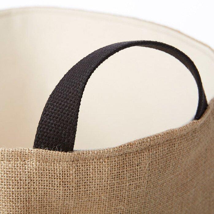 Beau Personalized Fabric Storage Bin