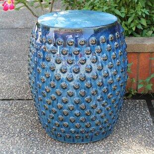 Mistana Hoddesd Drum Ceramic Garden Stool