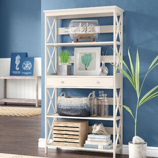 Gracelynn 5 Tier Standard Bookcase Beachcrest Home