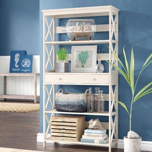 Gracelynn 5 Tier Standard Bookcase Beachcrest Home