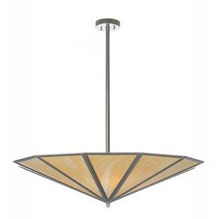 Meyda Tiffany Doce Lados 4-Light Semi-Flush Mount