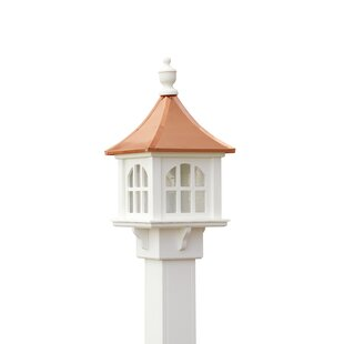 Schaffer Copper Cupola 1-Light Lantern Head