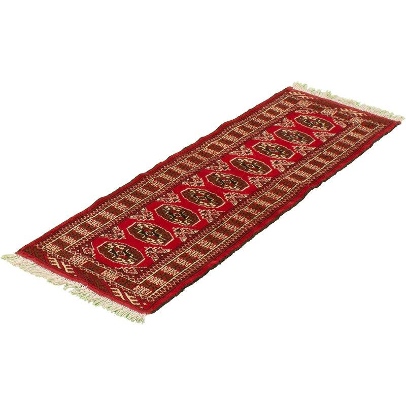Bloomsbury Market Aevah Hand Knotted Wool Red Beige Rug Wayfair