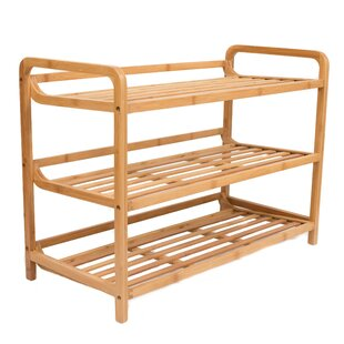 Comparison 9 Pair Shoe Rack By BirdRock Home
