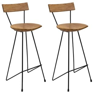 Juli Bar Stool (Set Of 2) By Ebern Designs