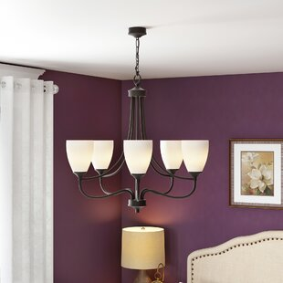 Grimshaw 5-Light Shaded Chandelier by Alcott Hill