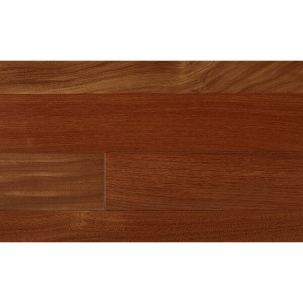 Indusparquet 5 Engineered Santos Mahogany Hardwood Flooring In Red