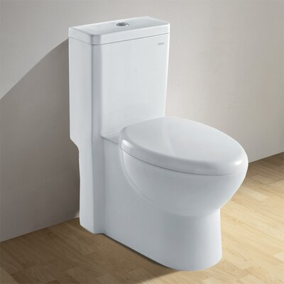 Ariel Bath Royal 1.6 GPF Elongated One-Piece Toilet (Seat Included)