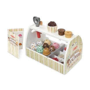 20 Piece Scoop and Serve Ice Cream Counter Set by Melissa & Doug