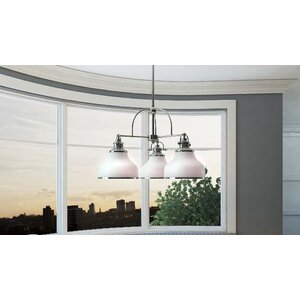 Attles 3-Light Bowl Pendant