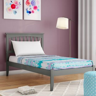Amethy Platform Bed with Open Footboard by Grovelane Teen