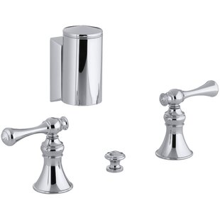 Kohler Revival Below-The-Rim Horizontal Swivel Spray Bidet Faucet with Tra..