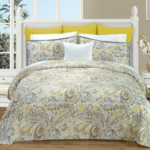 Athens Cotton Reversible Duvet Cover Set