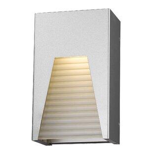 Best Reviews Ajhar Glam 1-Light Outdoor Flush mount By Willa Arlo Interiors