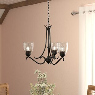 Laurel Foundry Modern Farmhouse Sheila 3-Light Shaded Chandelier