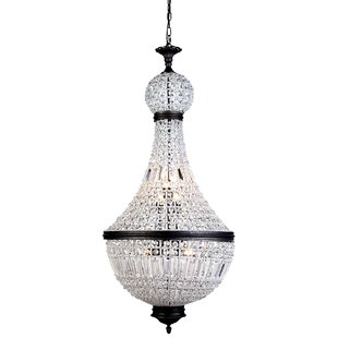 Seth 8-Light Empire Chandelier by Bungalow Rose