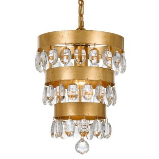 Mercer41 Opal 1-Light Novelty Pendant