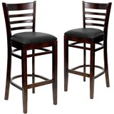 Loughran 31 Bar Stool (Set of 2) by Red Barrel Studio®