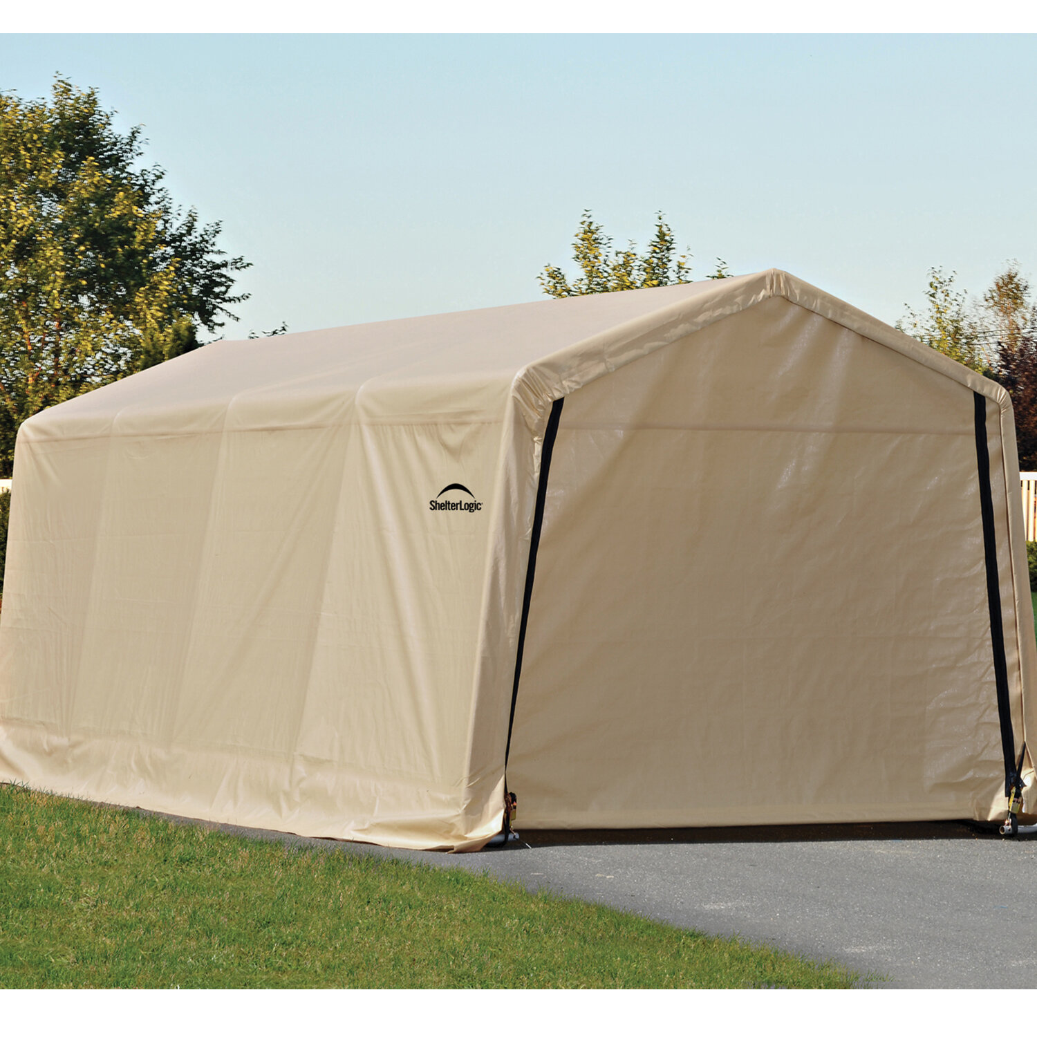 Shelterlogic 10 Ft X 20 Ft Garage Reviews Wayfair