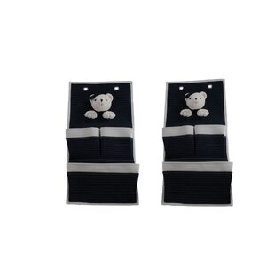 Compare prices Aden 3 Pocket Hanging Organizer (Set of 2) By Harriet Bee