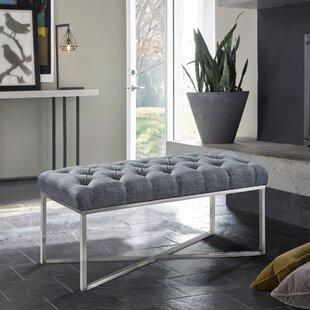 Orren Ellis Steinke Upholstered Bench