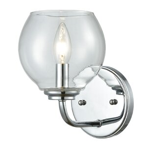 Debolt 1-Light Bath Sconce by Charlton Home