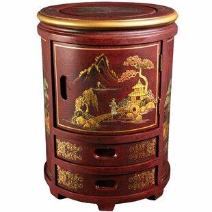 Diane Decorative Storage Stool by World Menagerie