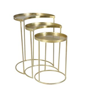 Goreville 3 Piece Nesting Tables by Bungalow Rose