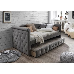 Deals Bostrom Twin Daybed with Trundle by Canora Grey Reviews (2019) & Buyer's Guide