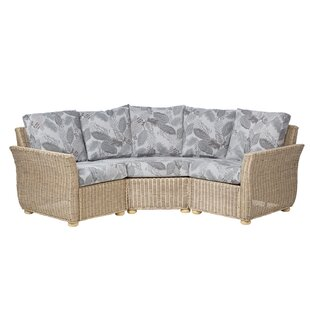Review Dockery 3 Piece Conservatory Sofa Set