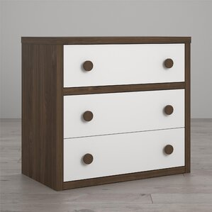 Sierra Ridge Terra 3 Drawer Dresser by Little Seeds
