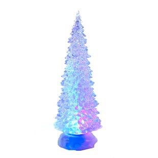 led light tabletop tree