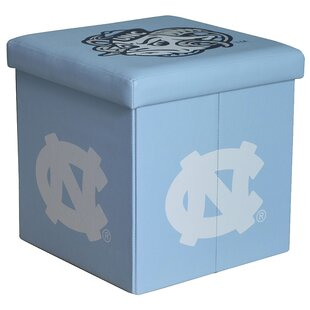 NCAA Small Storage Ottoman by Seasons Designs