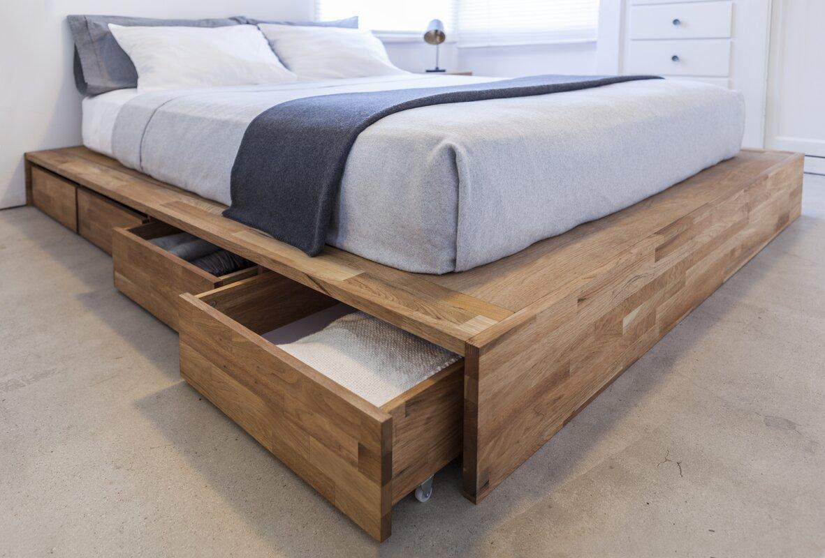 Lax Series Storage Platform Bed