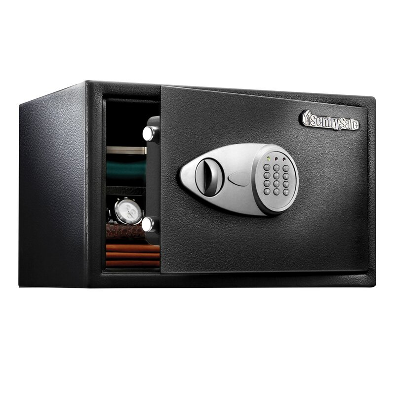 Sentrysafe Security Safe With Electronic Lock Reviews Wayfair