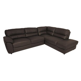 Soaring Ridge Leather Corner Sectional