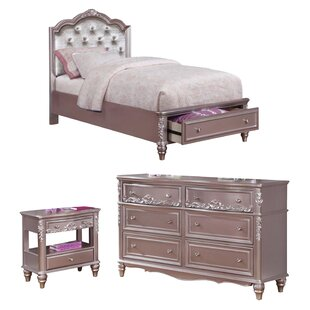 Gannon Full/Double Platform Configurable Bedroom Set