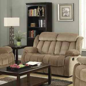 Gibsonia Reclining Loveseat by Darby Home Co